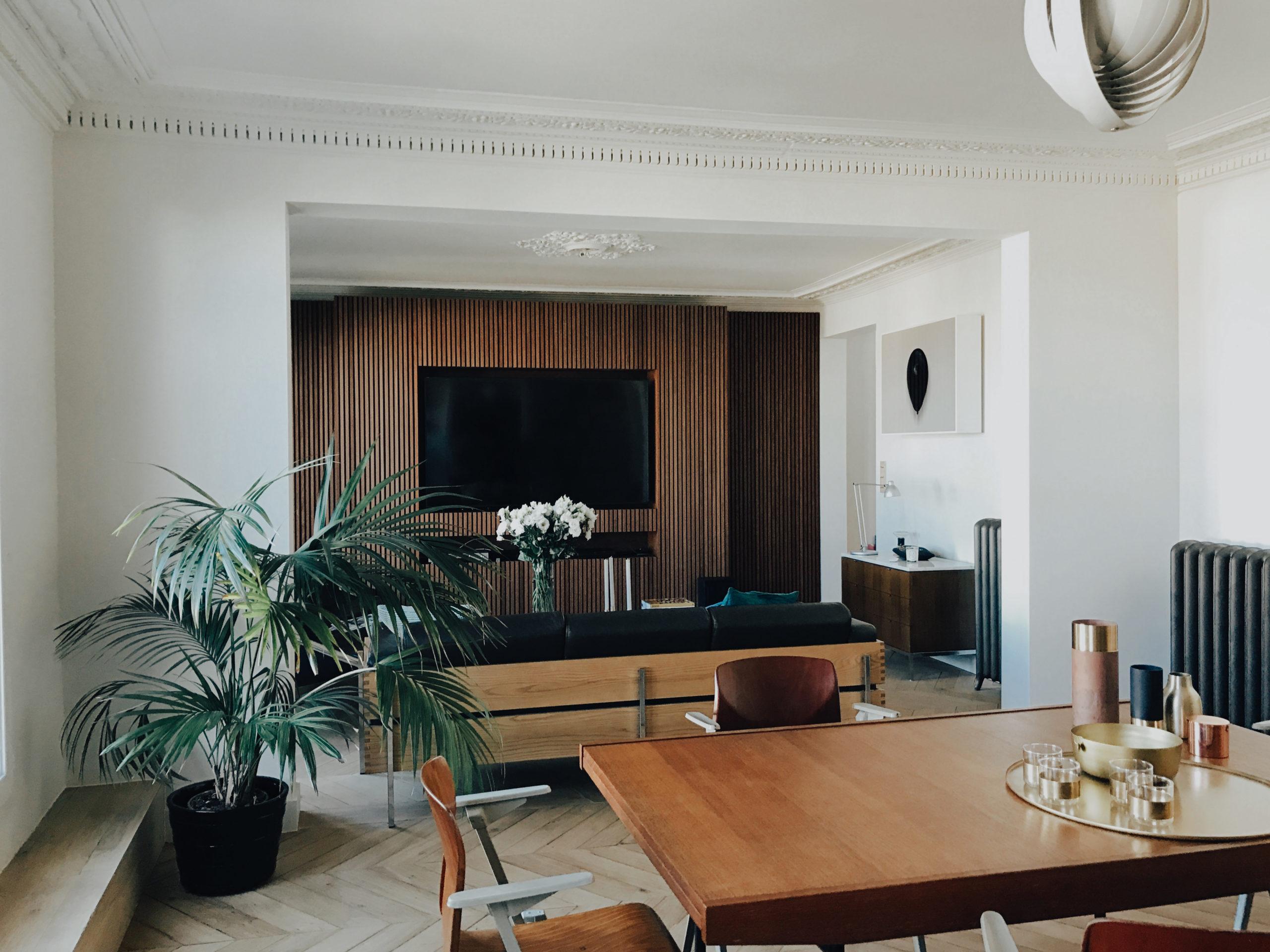 César Pupat architecture intérieure à Paris